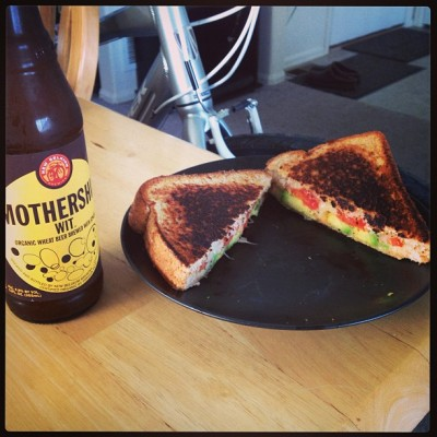 Mothership 6/12 with the best grilled cheese sandwich I've ever eaten.
