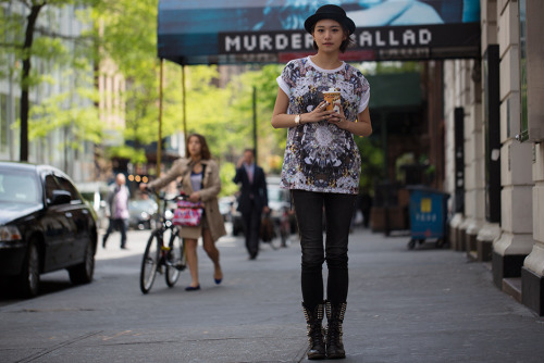 (via On the Street….East 17th St., New York « The Sartorialist)
