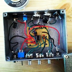 Noisy Cricket Amp gut shot. #noisycricket #diy #guitaramps #guitarpedals