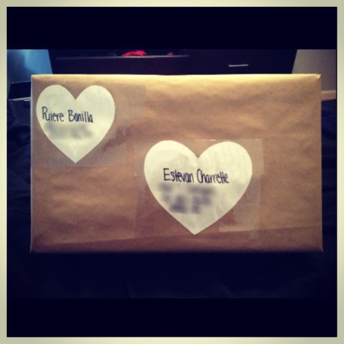 I send my boyfriend cute packages! 📦😊💕👫 @stev_shrett #boyfriend #package #longdistance #ilovehim #imisshim
