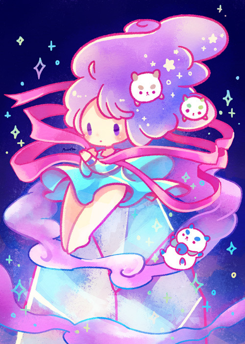 Bee and PuppyCat simple eye
