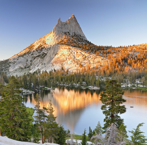 Cathedral Peak (crop) by Michael Bollino on Flickr.