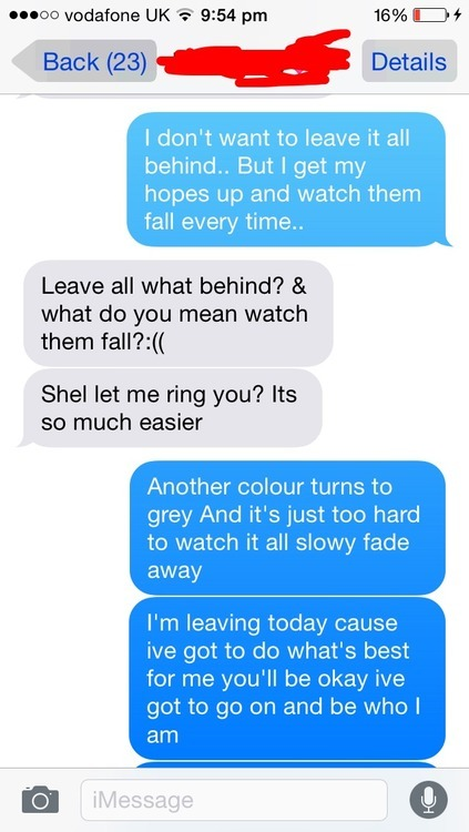 hilarious break up texts | Tumblr