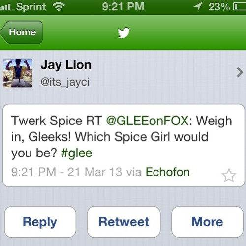 im just sayinnnn #twerk #glee