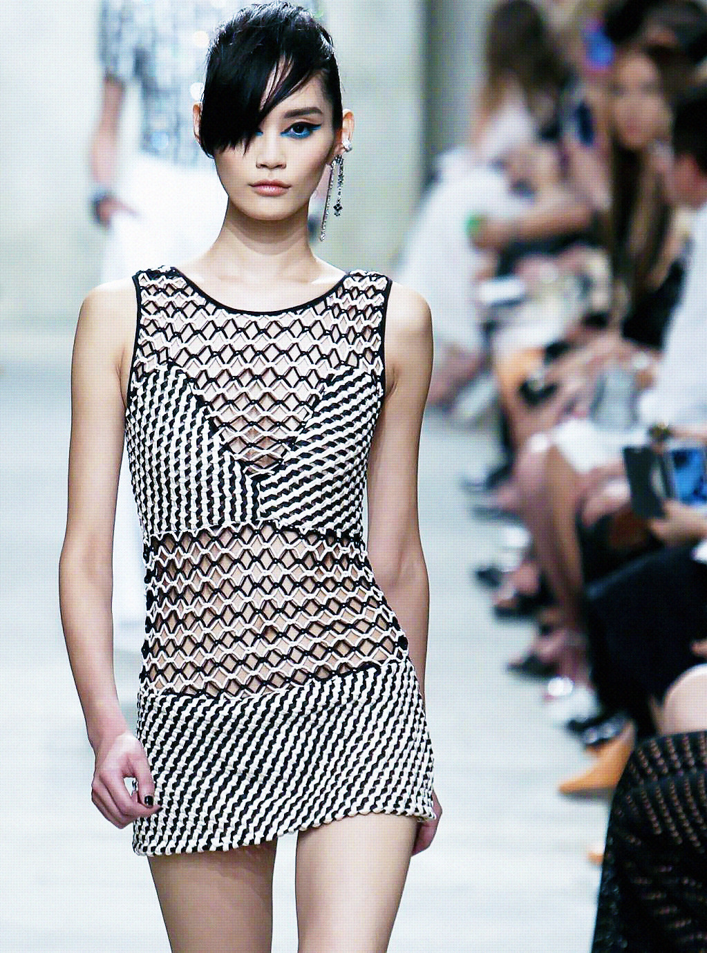 Ming Xi at Chanel Cruise 2014, Singapore.