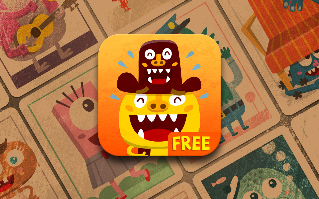 New icon of Monsters Band prepared for the upcoming game update. App StoreWebsiteVideo