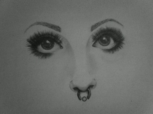 Spent my whole day drawing this and I must say I'm pretty proud of it. I'm dead now though so, Goodnight beauties.