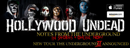 #NotesFromTheUnderground #UndeadArmy #Rock #Music #HollywoodUndead