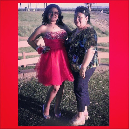 I love this picture of my mother and I. I'm so blessed for her. Ily.