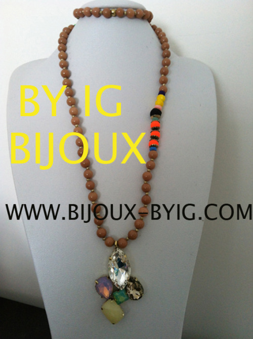 BY IG BIJOUX COLLECTION 2013…. WWW.BIJOUX-BYIG.COM