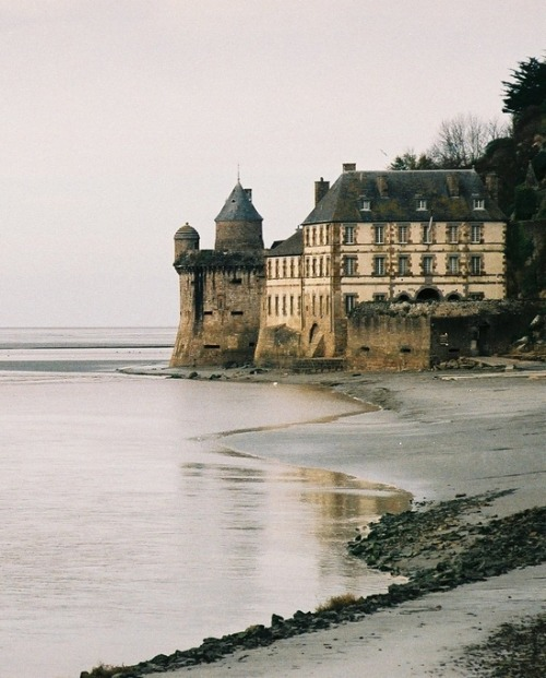 khimara:  By FredJ on Flickr Mont Saint-Michel, Normandy, France