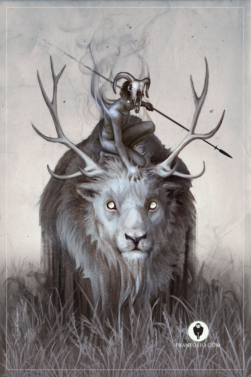 "rfmmsd:  Illustrator & Artist: Eran Fowler   ""A Boy and His Beast"" Digital Art"