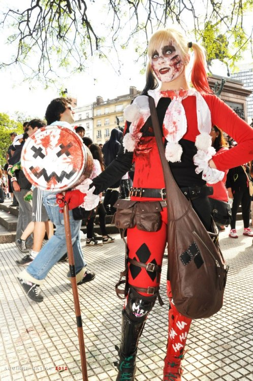 Just me as the first zombie harley quinn of my country, I named this version ZOMBEYQUINN. Hope you like it. Submitted by zombeyquinn