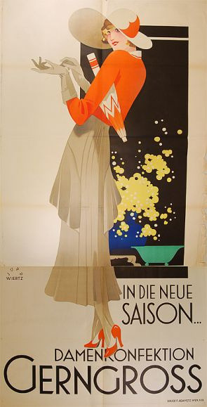 darjeeling2:  In the new season women's clothing Gerngross (c.1930) by Susanlenox on Flickr.