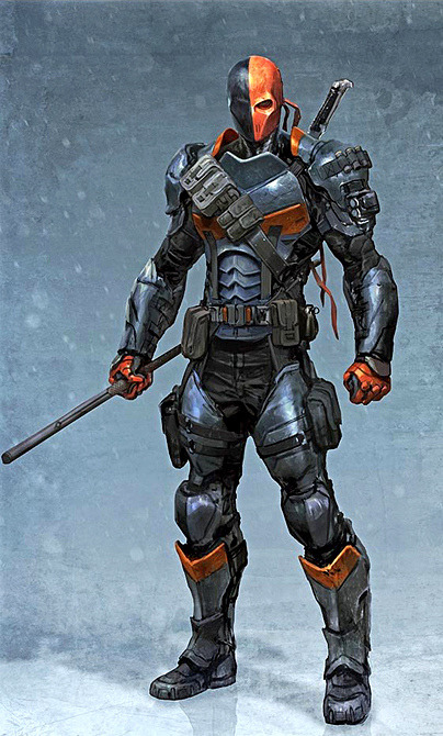 "lopez122417:  Deathstroke AKA Slade Wilson, master assassin and one of the villains of ""Batman Arkham Origins."""