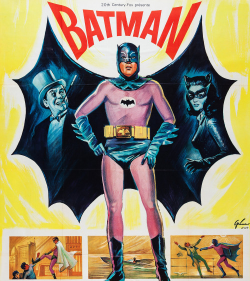 Batman movie poster (1966)