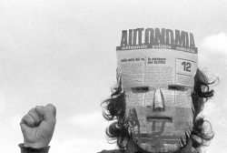 "Reading group: AUTONOMIA, OCCUPY, COMMUNISM: LEGACIES AND FUTURES Tuesday, May 21st, 2013 / 6:30pm until 8:30pm http://e-flux.com Event page: facebook.com/events/444596638964251   For the duration of Rossella Biscotti's exhibition ""The Trial"", e-flux will be hosting a regular reading group devoted to exploring the histories and legacies of the Italian Autonomia movement as they reverberate in contemporary struggles in the US–including but not limited to Occupy and its aftermath. Loosely facilitated by the editors of Tidal: Occupy Theory, Occupy Strategy and others, the reading group aims to create space for an extended intergenerational conversation about life, labor, and liberation.     The first several sessions will involve collective learning about the background, trajectory, and political innovations of Autonomia: first, the bottom-up ""workerist"" politics of Potere Operaio, as well as the importance of labor militants such as James Boggs in the United States to the formation of operaismo; from there, the group will track the cresting of Autonomia in 1977 as a decentralized, experimental political culture encompassing social actors beyond that of the factory worker such as precarious students and feminist intiatives such as Wages for Housework. This will provide an opportunity to discuss the tactics and organizing of Autonomia, but also the subjective and affective dimensions of the movement as embodied in various forms of cultural production such as Alberto Grifi's Il festival del proletario giovanile al Parco Lambro (Festival of the Young Proletariat at Parco Lambro) (1976) Nanni Belestrini's We Want Everything (1971), and the phenomenon of the Metropolitan Indians. From there, we will arrive to the massive state repression of Autonomia in the name of anti-terrorism (the subject of Biscotti's work). Throughout, we will consider the porosity of the Italian context relative to kindred developments elsewhere in Europe and beyond.A further strand of possible inquiry concerns the rich reception-history of the Autonomist tradition in the United States, encompassing intellectual networks, political struggles, and shifting economic conditions of global capitalism. Key links would include Wages for Housework, Semiotext(e), the Midnight Notes Collective, and most recently and prominently, the explosion of retroactive interest in Autonomia thinkers catalyzed in the English-speaking world by the publication of Hardt and Negri's Empire at the ripe historical moment of the counter-globalization movement. Since then, concepts such as Post-Fordism, immaterial labor, collective intelligence, and constituent power have become important points of reference for artists, academics, and political organizers. Why has the Autonomia legacy struck such a chord in the past decade? And how does it relate to the resurgent interest in communism, communization, and commoning as political horizons in the present?Discussions indebted to Autonomia have fed directly into the phenomenon of Occupy in its verious iterations over the past two years. The ongoing and multifarious project of Occupy will constitute a consistent thread of the reading group, culminating in several concluding discussions devoted explicitly to recent movements in the US and beyond. Texts by theorists and organizers–including some with biographical ties to the histories in question such as Michael Hardt, George Caffentzis and Silvia Federici–may be drawn on as prompts for new questions grounded in recent experience and geared toward the future.Contact laura@e-flux.com for more details.WEEK 1: Tuesday, May 21stIntroduction:This session will begin with a brief introduction to the overall reading group. The series of texts listed below are proposed to lay out the broad historical and theoretical trajectory for the group in coming weeks as provoked by Rosella Biscotti's The Trial. They include both archival documents and retrospective analyses of the expanded Autonomia period in the 1970s and its afterlives in the early twenty-first century. How and why does Autonomia resonate today for us in the ongoing aftermath of Occupy and related movements around the world? These questions of historical resonance will preoccupy discusisons throughout the duration of the group, but the first session will set out some basic points of reference to be fleshed out and debated in future sessions.The readings below for the first session are available to download here:http://www.e-flux.com/program/reading-group-autonomia-occupy-communism-legacies-and-futures/Paolo Virno, untitled testimony from ""April 7th"" trial (1983-84)Sylvere Lotringer and Christian Marazzi, ""The Return of Politics,"" in Lotringer, ed. Autonomia: Post-Political Politics (1980), pp. 8-20Michael Hardt, ""Introduction: Laboratory Italy"" in Hardt, ed. Radical Thought in Italy: A Potential Politics (1996), pp. 1-10Sylvere Lotringer, ""Foreword,"" in Paolo Virno, Grammar of the Multitude (2004), 7-18Branden W. Joseph, ""Interview with Paolo Virno,"" Grey Room 21 (2005)"