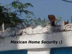 memexico:  Mexican Home Security.