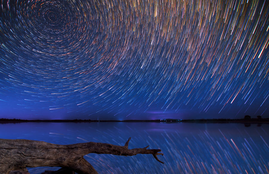 Spectacular Star Trails by Lincoln Harrison