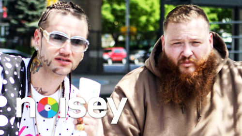 "noiseymusic:  Action Bronson – ""Strictly 4 My Jeeps"" Here's the new video for Action Bronson's latest single ""Strictly 4 My Jeeps."" Taking place in Queens, New York, the video stars Riff Raff, pitbulls, big beautiful women, and a big ol' badass jeep. Watch it here"