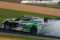 Daigo Saito and #2JZGTE powered by @AEMelectronics #InfinityECU = ridiculous tiresmoke. (via NEWSWORTHY> Daigo Saito Wins Formula D Atlanta – MotorMavens | Car Culture and Photography)