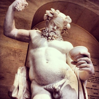 parisfind:  #Drunken #Silenus #dancing in the halls of #Versailles. #Roman artwork of the 2nd century AD. (at Château de Versailles)