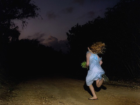 Compelling Photos of People Running from Unseen Dangers