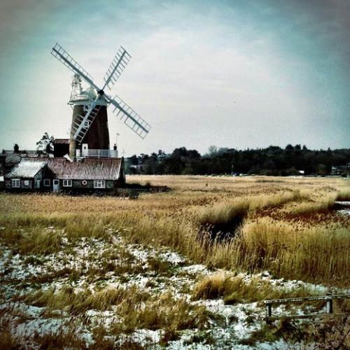 Cley windmill, Norfolk, England (via All Things Considered)