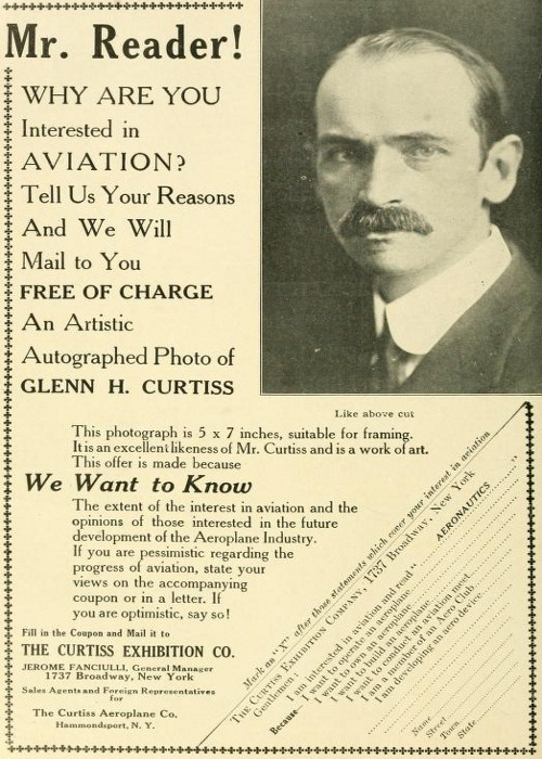 from Aeronautics, November 1911