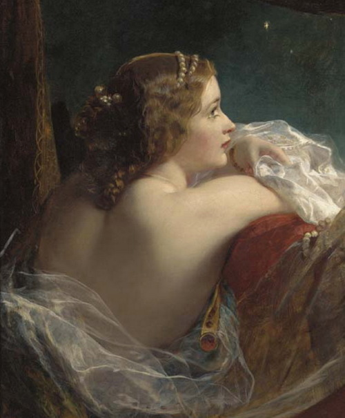 "soyouthinkyoucansee:   ""The moonlit beauty"" James Sant ( A favourite ) 2x posted"