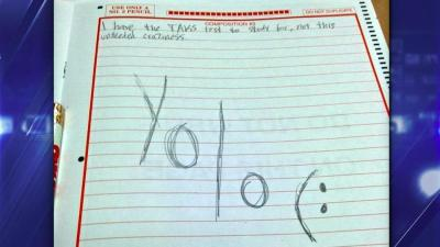 YOLO Ruins Lives: Student Suspended Over Test Prank