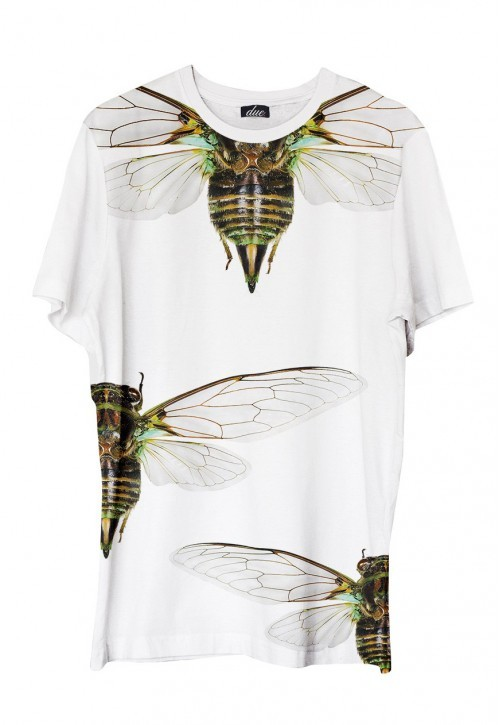 Cicadas - printed t-shirt   www.duefashion.com