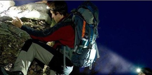 Don't go camping overnight without your trusty outdoor headlamp