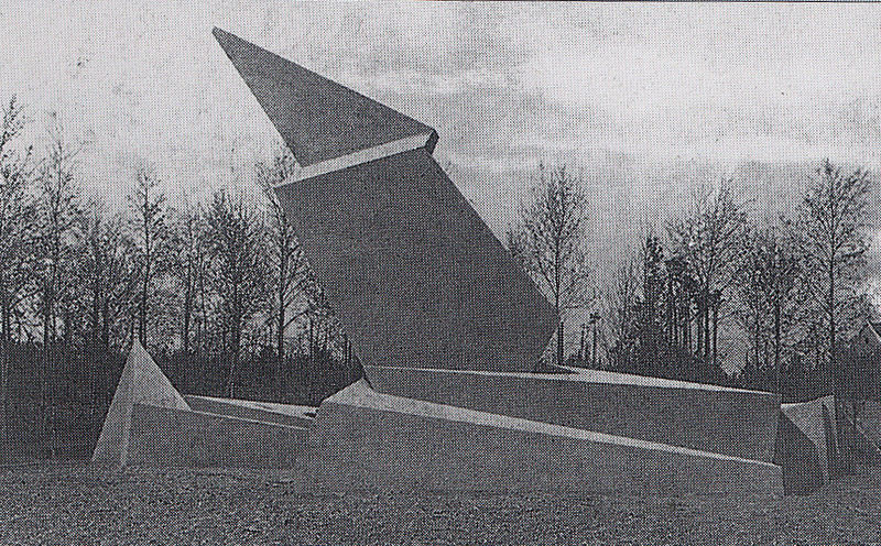 Walter Gropius, Monument to the March Dead, 1921/2