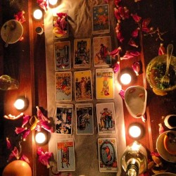 #tarotcard reading #nofilter #tarot #candles #magic #brooklyn #friday #newschool #parsons