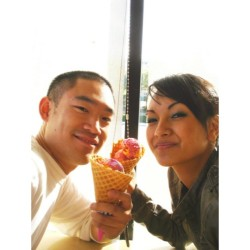 "#Tbt 5yrs ago on our first ""date"""