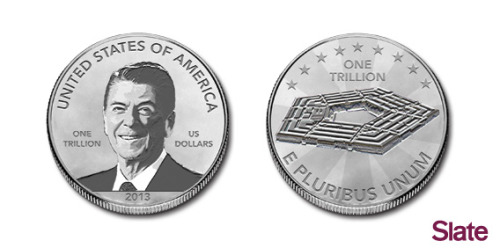 (via Send Slate your design for the economy-saving $1 trillion platinum coin. - Slate Magazine)