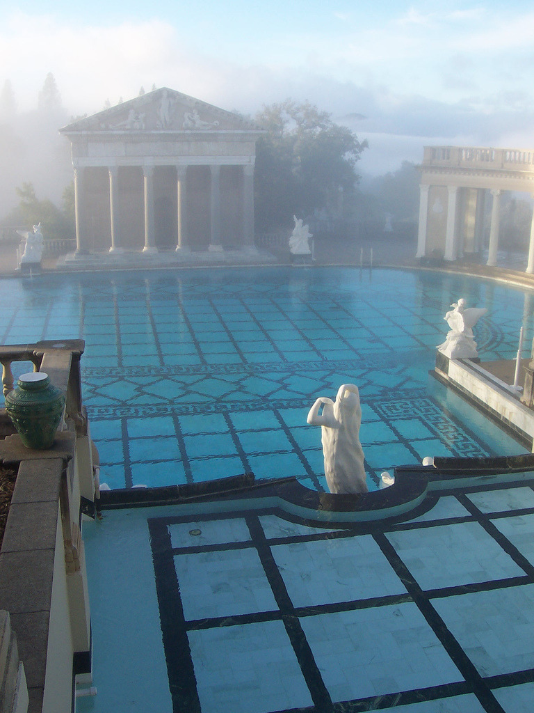 anxieties:  dressed-for-space:  hearst castle  more like hirst castle