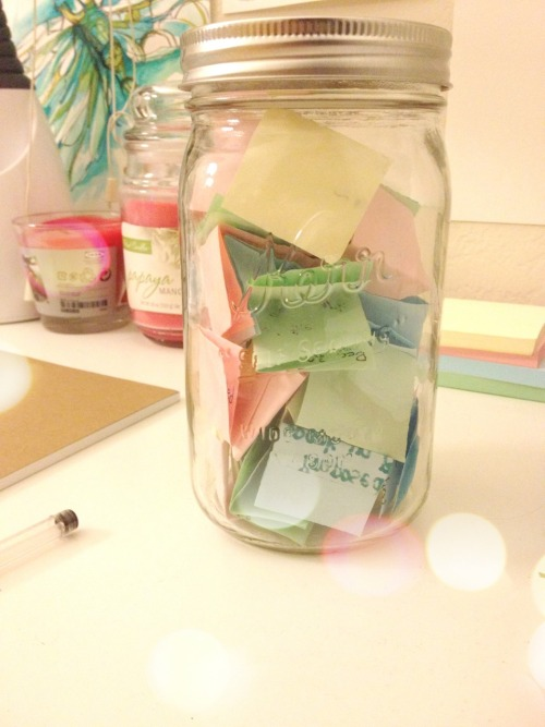 Memory jar filled :)