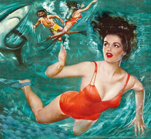 Movie poster of Jane Russell in Underwater! (1955)