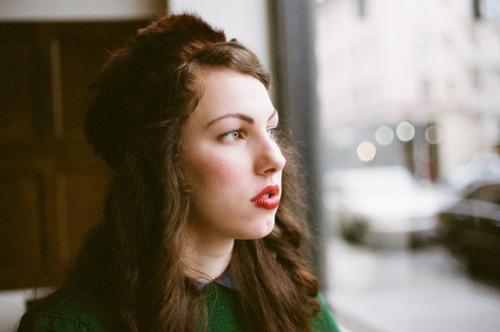 Gabrielle || Ace Hotel || Portland, OR  Finally got some film developed from way too long ago and will be posting more soon.