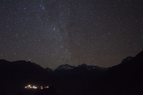 mattcheng:  Stars over Nepal on Flickr.