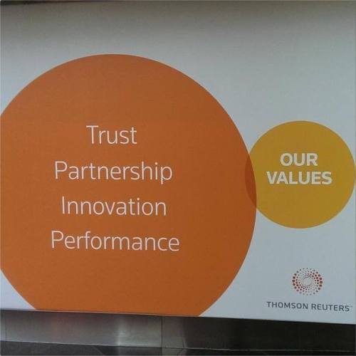 Thomson Reuters values
