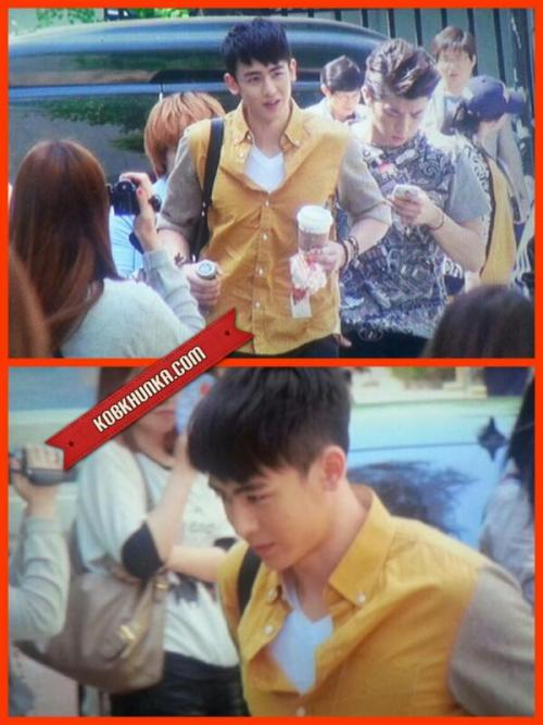 sweetiekhunnie:  130521 Nichkhun is going to Yu Huiyeol's Sketchbook