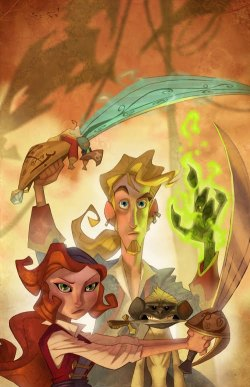 xombiedirge:  Monkey Island by Ryan Jones