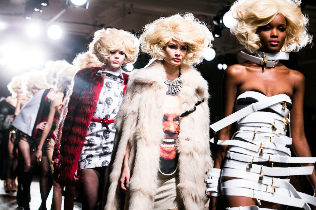KILLER ICONS AT THE BLONDS Photo by Masha Maltsava.