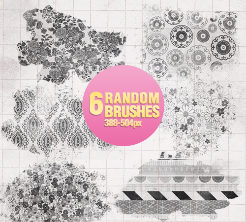 Random Brushes - 0205 by ~Missesglass