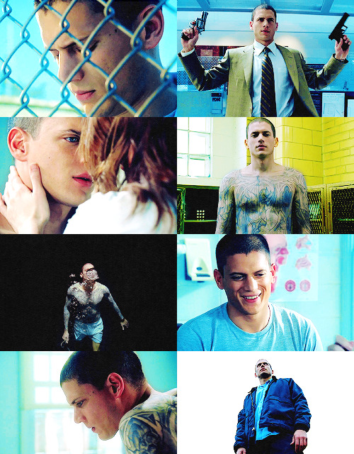 """Michael Scofield is someone everyone can relate to, but nobody would want to be in his shoes."" - Wentworth Miller"
