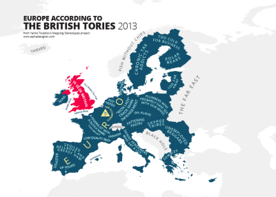 Europe According to the British Tories by alphadesigner