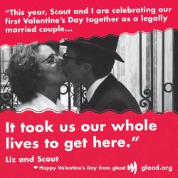 Liz and Scout have a special Valentine's Day message for LGBT youth.